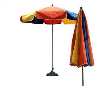 چادر آفتاب گیر - چتر حیاط - چتر ویلا -چتر پایه وسط
