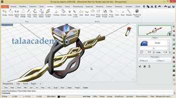 آموزش طراحی طلاو جواهر با کامپیوتر