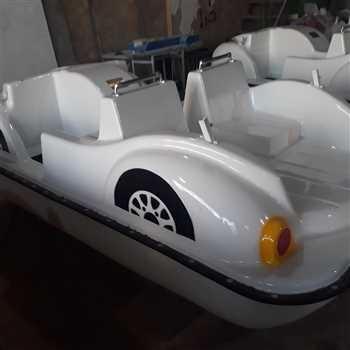 قایق پدالی_قایق پدالی طرح فولکس زرین کار