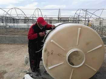 جوشکاری و تعمیر مخازن پلاستیکی پلی اتیلن درمحل