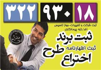 ثبت برند، علامت، لوگو تجاری و اختراع