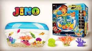 فروش پک آکواریوم و ماهی رباتیک جینو