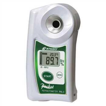 فروش رفراکتومتر دیجیتال پرتابل مدل PAL-3 بریکس: 0.0_93.0%
