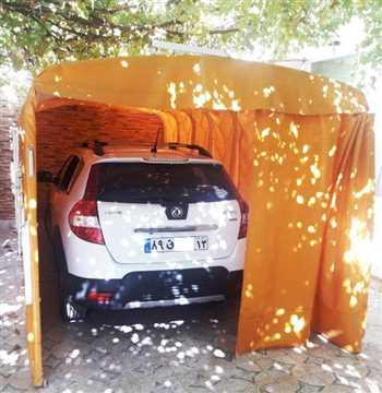 سایبان و چادر ماشین تاشو