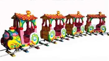قطار شهربازی ، سالن های بازی ، شهربازی سرپوشیده