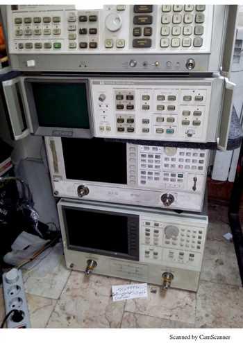 فروش تعدادی از دستگاه های اندازه گیری فرکانس بالا دست دوم ( با گواهی کالیبراسیون معتبر و گارانتی 6 ماهه) مانند:اسپکتروم،سیگنال ژنراتور،نتورک ،پاورمترو