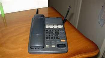 تلفن رومیزی بیسیم Panasonic KX-3962 ژاپنی