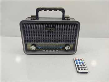 اسپیکر  و رادیو سایز بزرگ  شارژی و باتری  و قدرت بخش