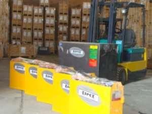 فروش ویژه باطری لیفتراک برند ESPEX انگلستان با گارانتی اصل